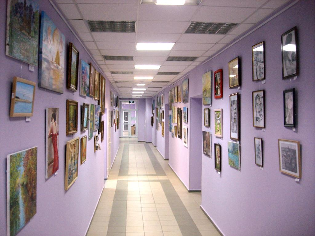 Выставка, известные картины